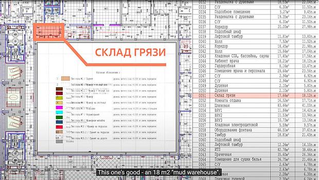 Фото №2 - Архитектор объяснил, что такое «склад грязи» и «аквадискотека» из видео «Дворец для Путина»