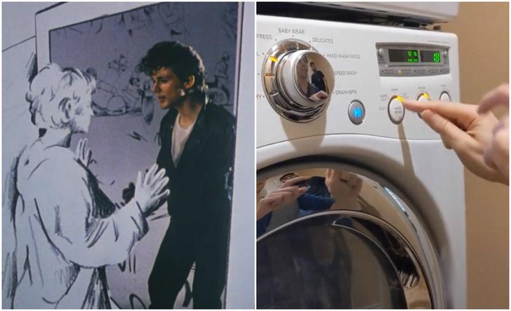 Фото №1 - Видео с исполнением хита a-ha «Take on Me» на стиральной машине посмотрели больше 1,5 миллиона раз