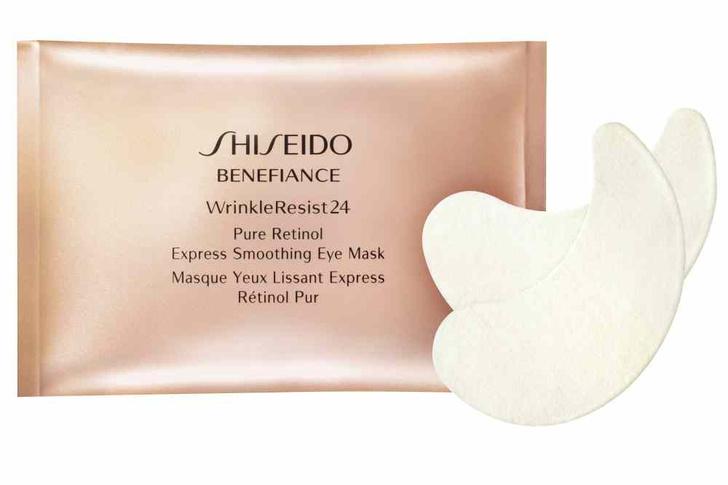 Маски-патчи под глаза Wrinkle Resist 24, Benefiance, Shiseido