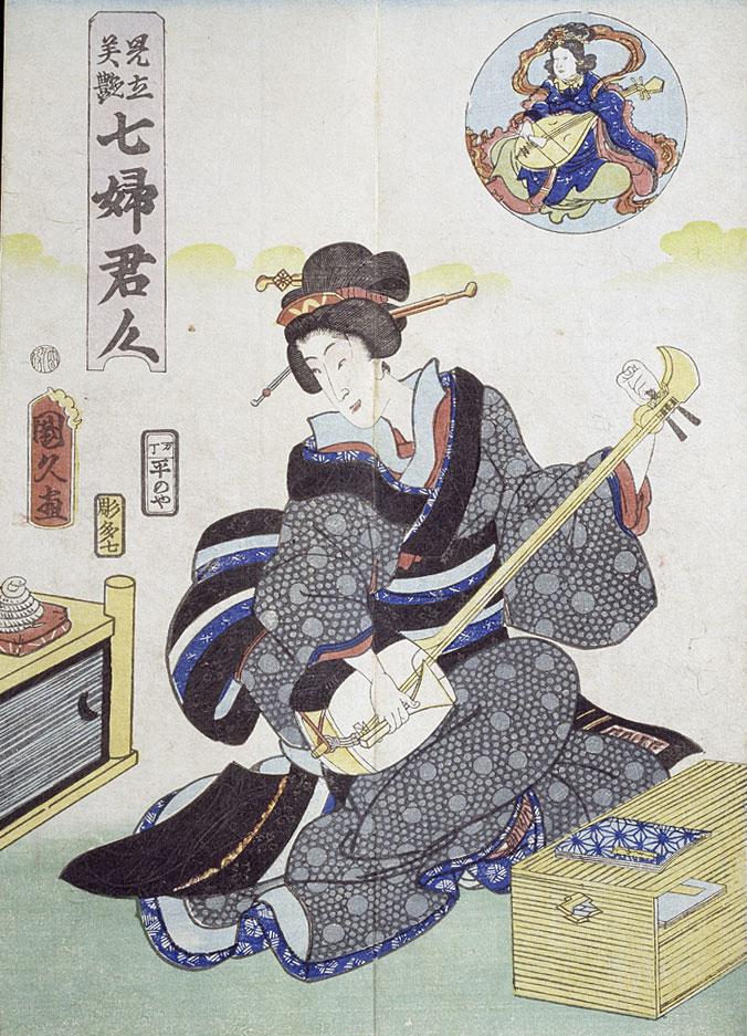 Фото №1 - Япония: сямисэн