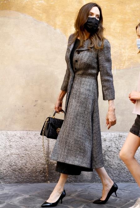 Анджелина Джоли в Риме