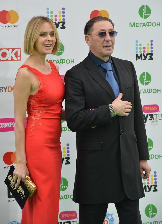 Григорий Лепс жена фото