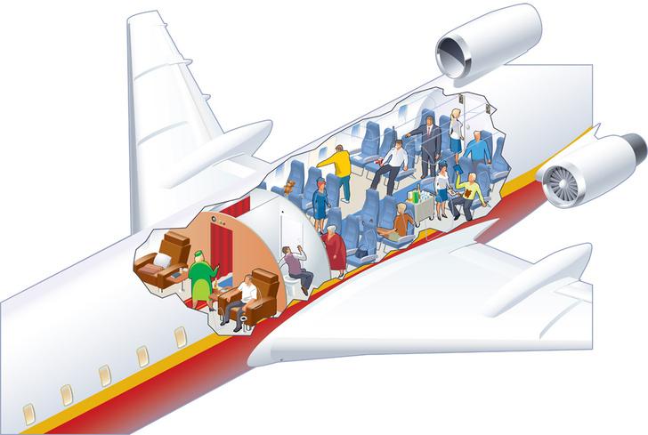Фото №1 - 7 источников опасности в самолете