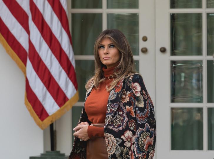Фото №4 - Ищите женщину: почему Мелания Трамп не появляется на публике