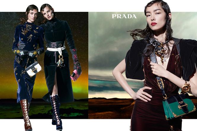 Фото №4 - 27 ярких моделей в осенней рекламной кампании Prada
