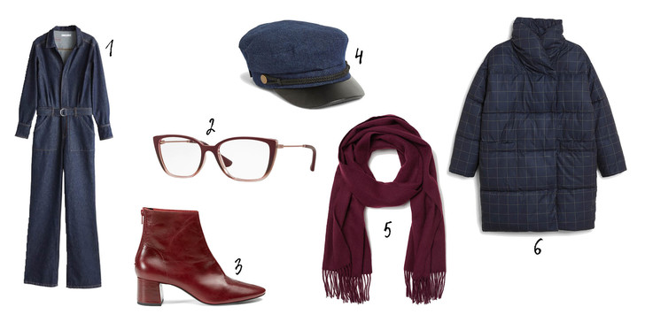 Фото №2 - Как носить деним зимой: 6 стильных образов на любой вкус