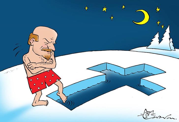 Фото №1 - 13 заряженных на радость карикатур Максима Смагина