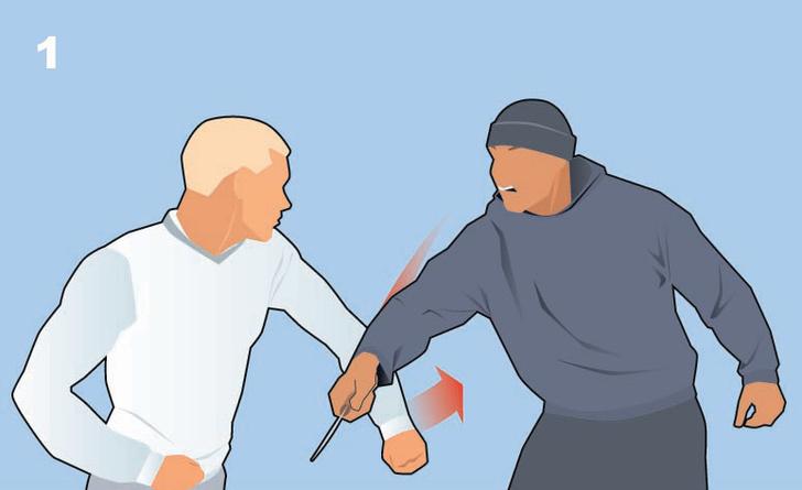 Фото №1 - Как защититься от ножа