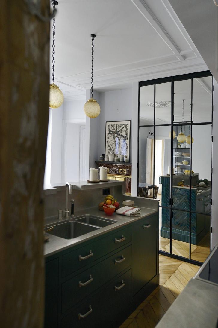 Фото №5 - Парижская квартира для творческой пары с двумя детьми