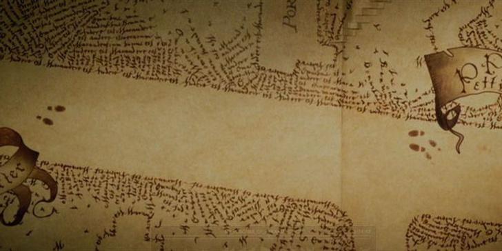 Фото №2 - «Гарри Поттер»: 10 фактов о карте Мародеров, которые знают только те, кто читал книги 🗺️