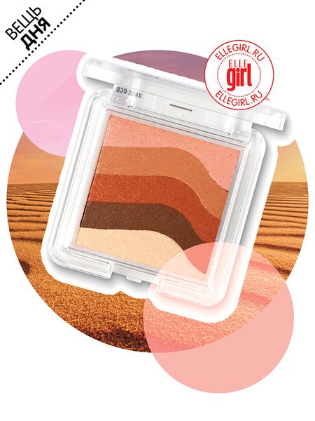 Румяна-бронзер Shimmer Waves, The Body Shop