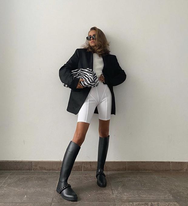 Фото №1 - С чем носить резиновые сапоги: показывают шведские и датские блогеры