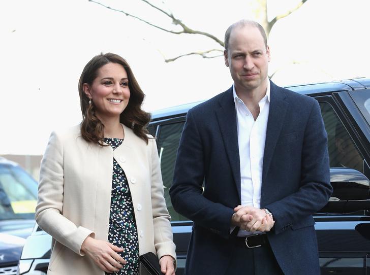 Фото №1 - Герцоги Кембриджские все еще не знают пол своего третьего ребенка