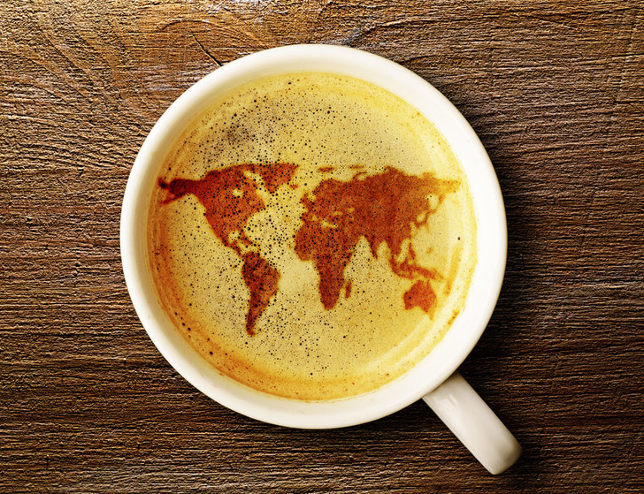 Фото №1 - Кофейная тема с вариациями