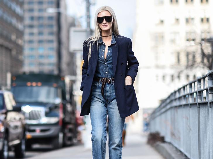 Фото №4 - Расширяем гардероб: 5 способов носить джинсовую рубашку в офис
