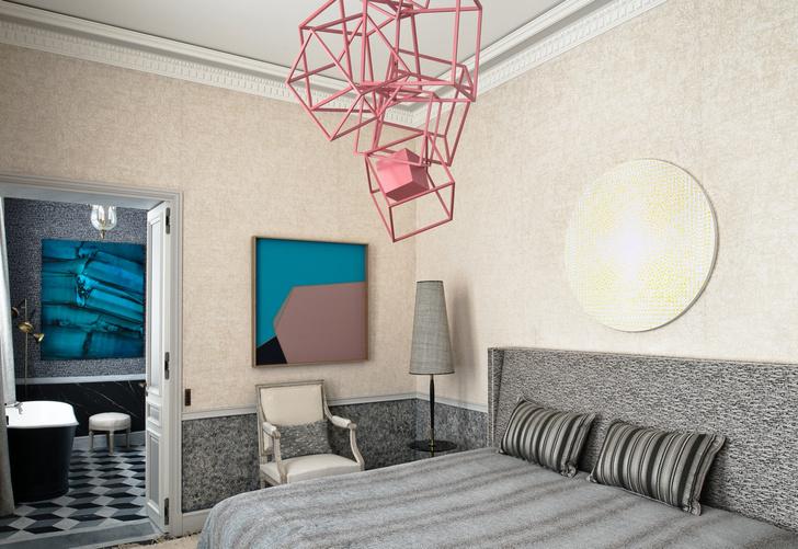 Фото №9 - Полночь в Париже: квартира по проекту Жан-Луи Деньо