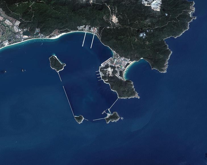 Фото №5 - Юйлинь: база атомных подлодок, которая была рассекречена благодаря случайному снимку со спутника