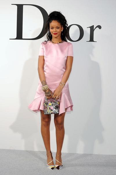 Рианна на показе круизной коллекции Dior