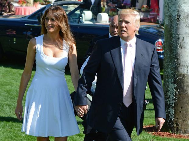 Фото №1 - Королевский размах: какой была свадьба Мелании Кнавс и Дональда Трампа