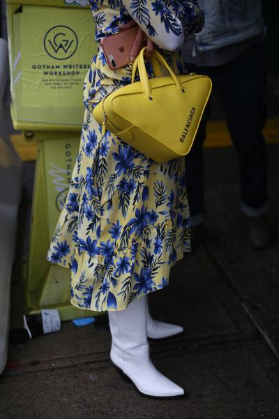 Street Style: NYFW весна-лето 2019