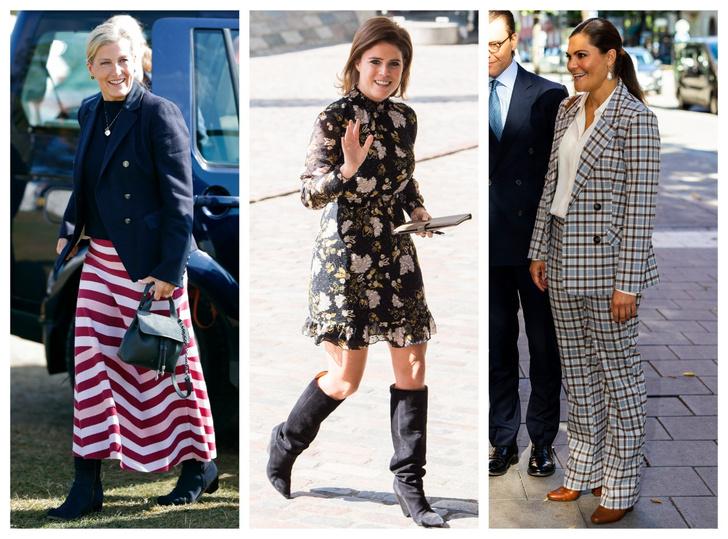 Фото №1 - Как одеться по-королевски этой осенью: 8 модных идей от монарших особ