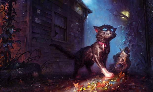 Фото №1 - Художник недели: коты, ведьмы и ведьмаки Анджея Челмински