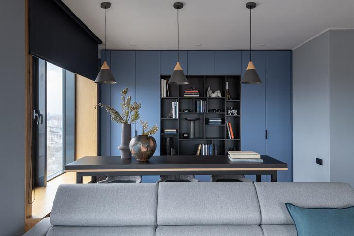 Фото №2 - Современная квартира 82 м² для творческой пары в Москве