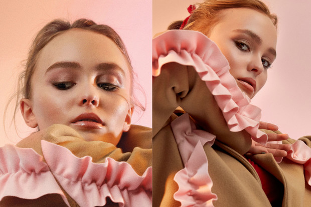 Лили-Роуз Депп для V Magazine