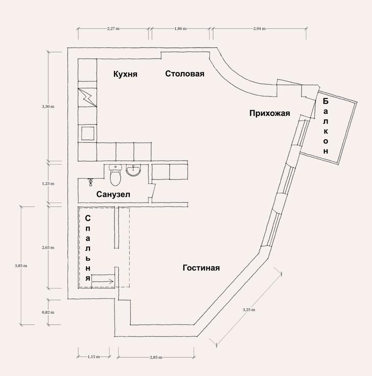 Фото №17 - Маленькая скандинавская квартира со спальней на антресоли