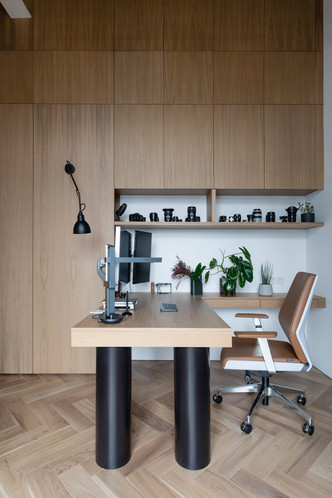 Фото №7 - Минималистичная квартира в лофт-апартаментах в Москве