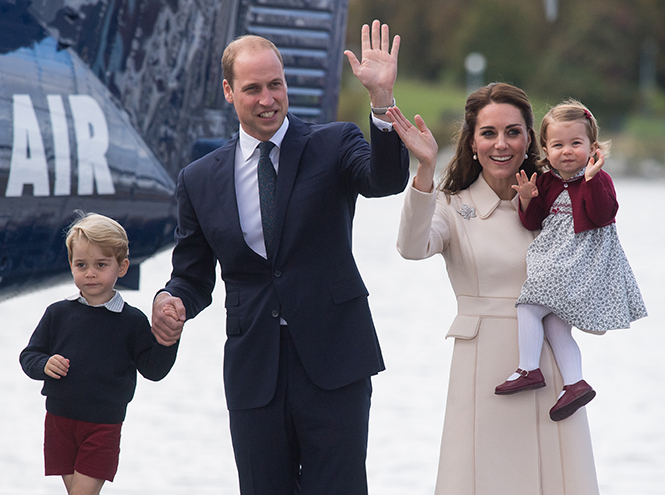Фото №37 - Принцесса Шарлотта Кембриджская: второй год в фотографиях