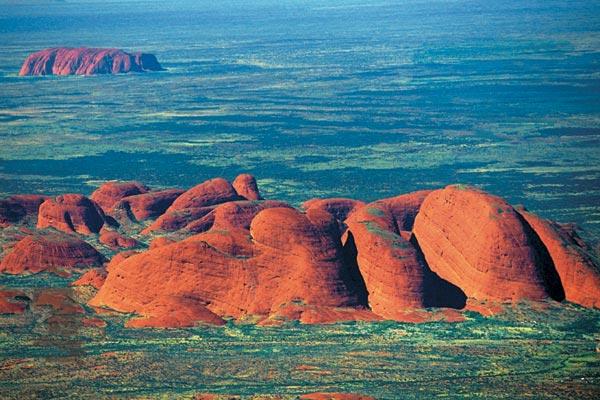 Фото №1 - Австралия: взгляд сверху