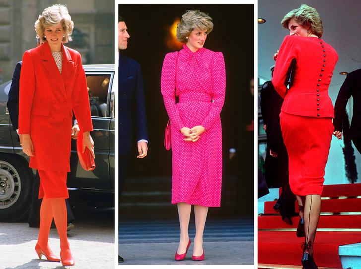 Фото №1 - Как принцесса Диана носила цветные колготки