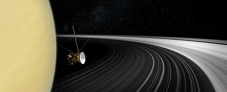 Фото №1 - Назван возраст образования колец Сатурна