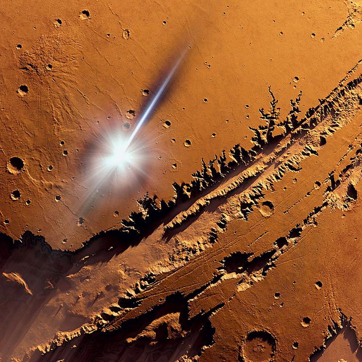 Фото №1 - Ученые усомнились в том, что Марс мог быть пригоден для жизни