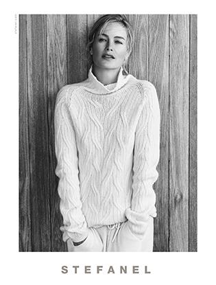 Фото №5 - Кэролин Мерфи - лицо рекламной кампании STEFANEL
