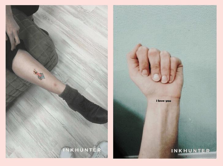 Фото №2 - Приложение дня: примерь татуировку с INKHUNTER