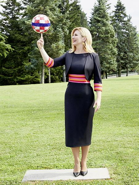 Фото №4 - Колинда Грабар-Китарович: диалог с президентом Хорватии
