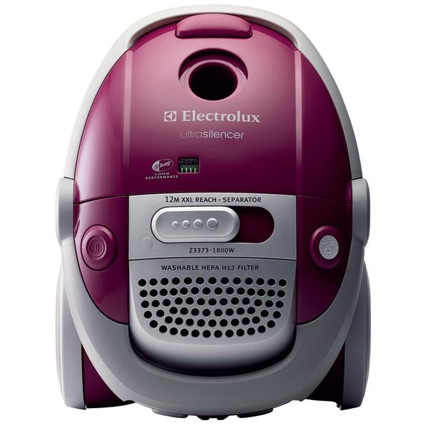 Серия Ultra Silencer (Electrolux) отличается чрезвычайно низким уровнем производимого при работе шума. Модель Z3373.