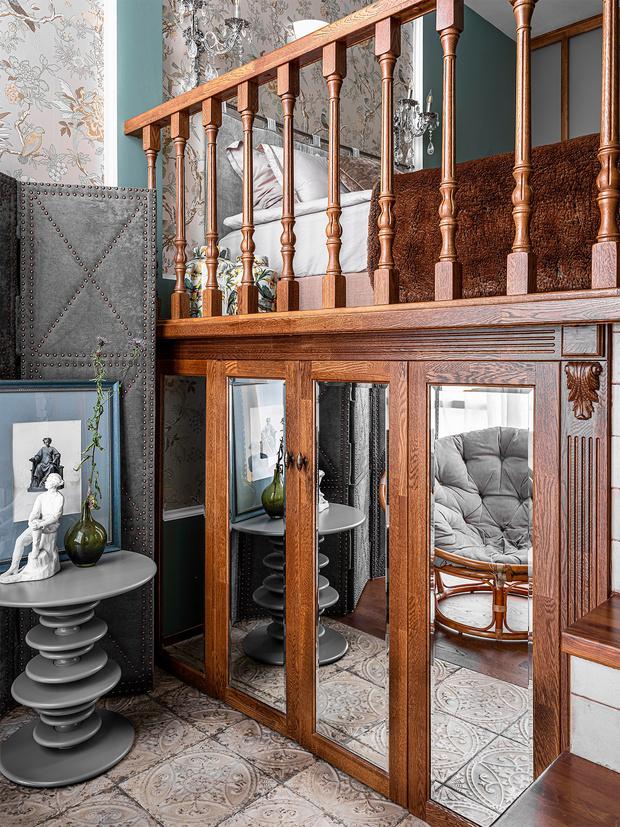 Фото №9 - Двухэтажный пентхаус в стиле бохо в Перми