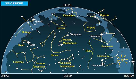 Фото №1 - Ночное небо: на что посмотреть в октябре