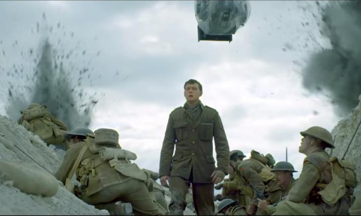 Фото №1 - Дублированный ролик о съемках грядущего фильма Сэма Мендеса «1917»