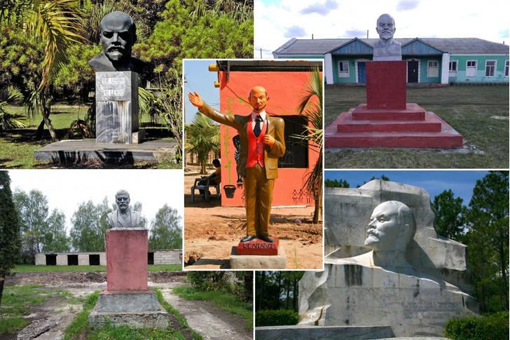 Фото №1 - Сайт, на котором собрано почти 10 тысяч памятников Ленину со всего мира