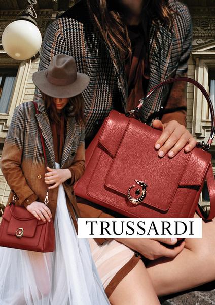 Фото №6 - Модные коллажи в новой кампании Trussardi осень-зима 16/17