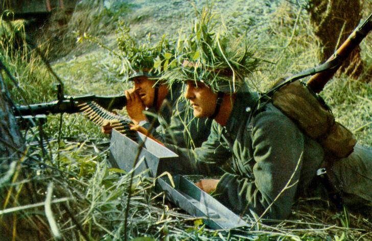 Фото №2 - Короли перевоплощения: 17 шедевров военной маскировки