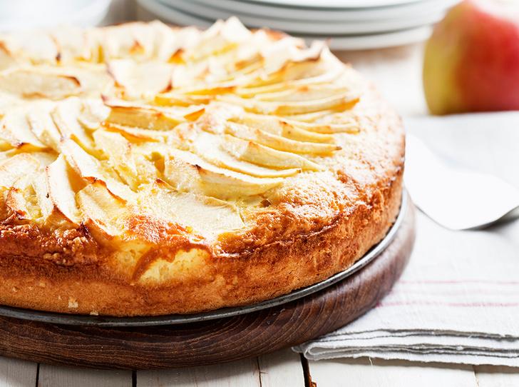 Фото №1 - Как приготовить нежный яблочный пирог