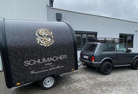 Шумахер-младший купил «Ниву» для своего винодельческого бизнеса