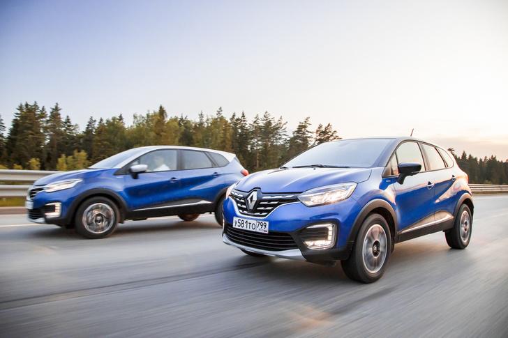 Фото №6 - Renault Kaptur: внутренний прогресс