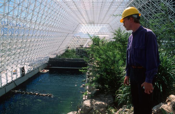 Фото №4 - «Биосфера-2»: двухлетний эксперимент по выживанию в замкнутой среде, который провалился