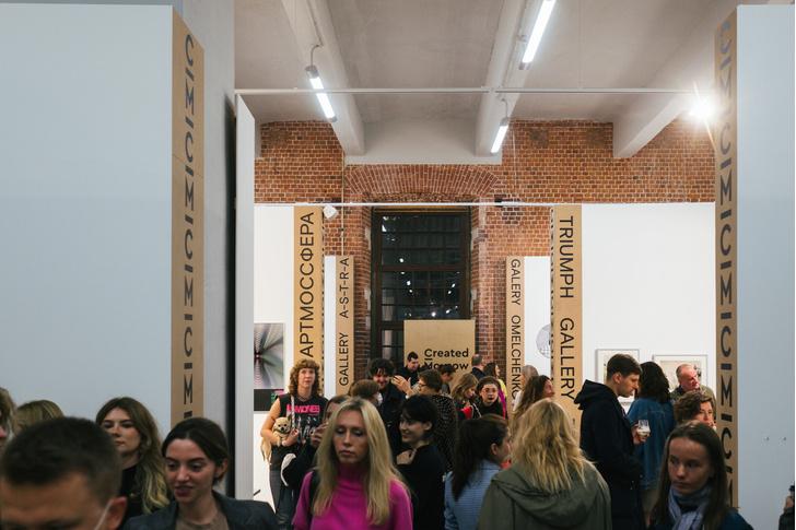 Фото №1 - Наталья Гольденберг, Ксения Чилингарова и другие гости на открытии ярмарки молодого современного искусства blazar